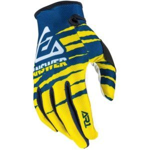 ar1 pro glo glove yellow midnight