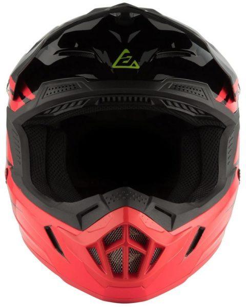 ar1 pro glo helmet red black hyper
