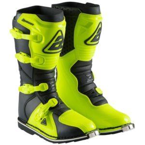 bota verde fluor