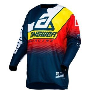 elite korza jersey midnight white pro yellow