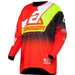 elite korza jersey red white hyper acid