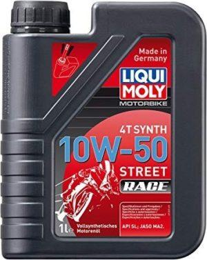 aceite motos liqui moly 10w50 stret race full sintetico